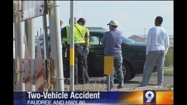 Vehicle Runs Red Light, Causes Two Vehicle Accident Near Odessa