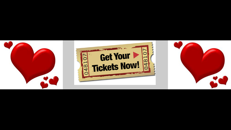 Be Dee's Bistro valentine and guest for dinner and a show!