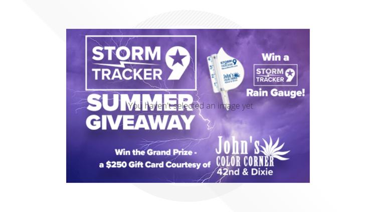 Enter to win $250 & a Storm Tracker rain gauge