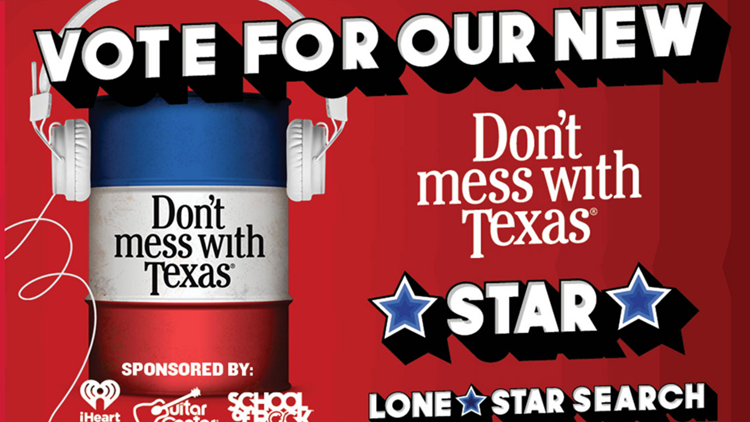 Voting open for TxDOT's 'Don't mess with Texas' song contest