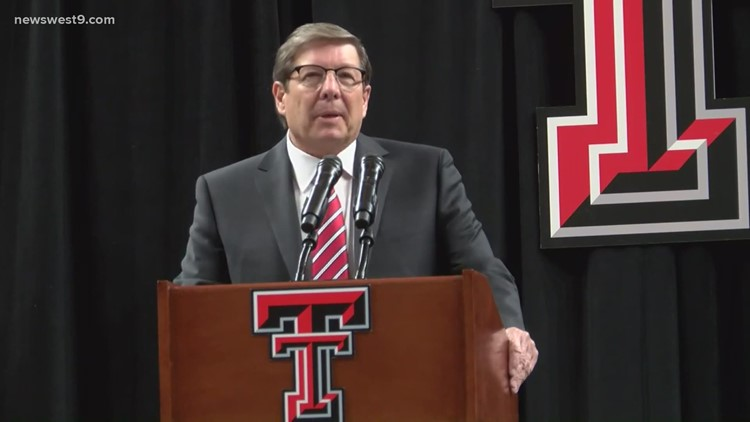 Mark Adams speaks at introductory press conference