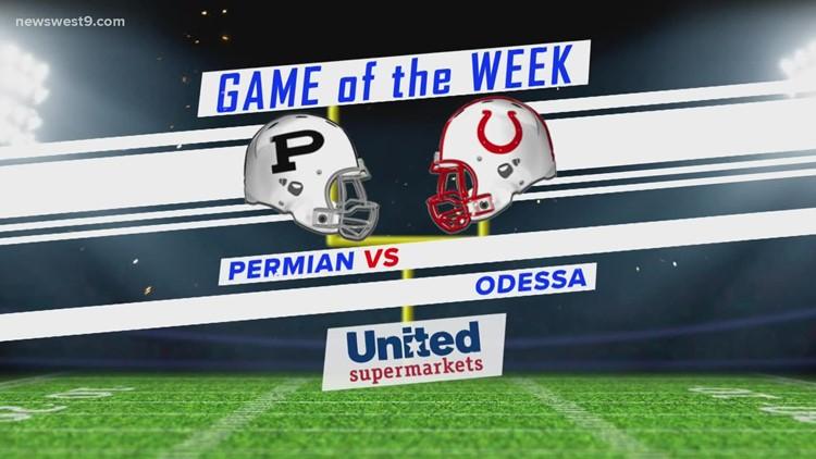 Week 7   Odessa High vs. Permian