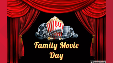 Movies and popcorn at Midland County Library