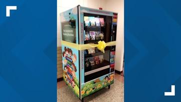 XTO donates 5 book vending machines to ECISD elementary schools