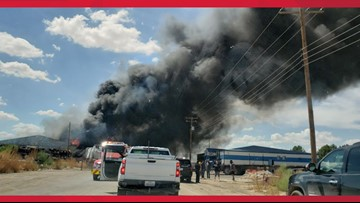Fire in Pecos knocks down emergency phone line services