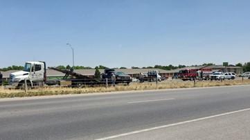 Crash backs up traffic along Loop 250