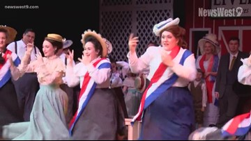 Behind the Curtain-The Music Man