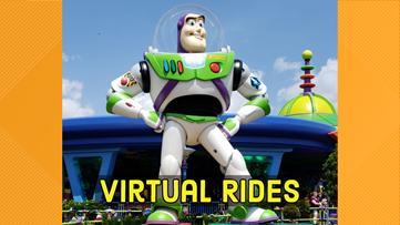Disney takes kids on virtual roller coaster ride