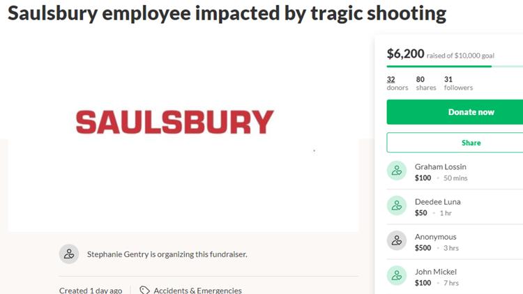 Saulsbury employee Odessa shooting victim GoFundMe page