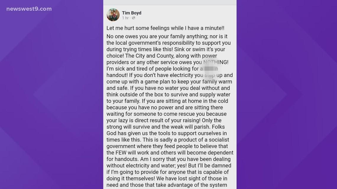 Former Colorado City mayor under fire for Facebook post