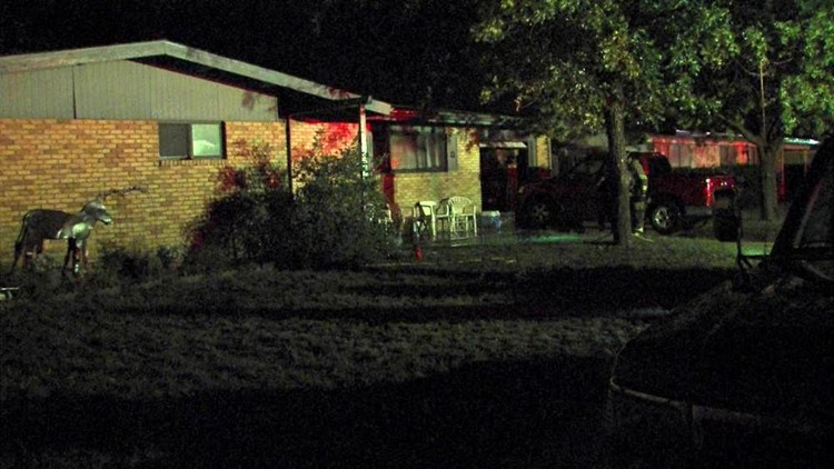 House Fire Sparks Up in Odessa