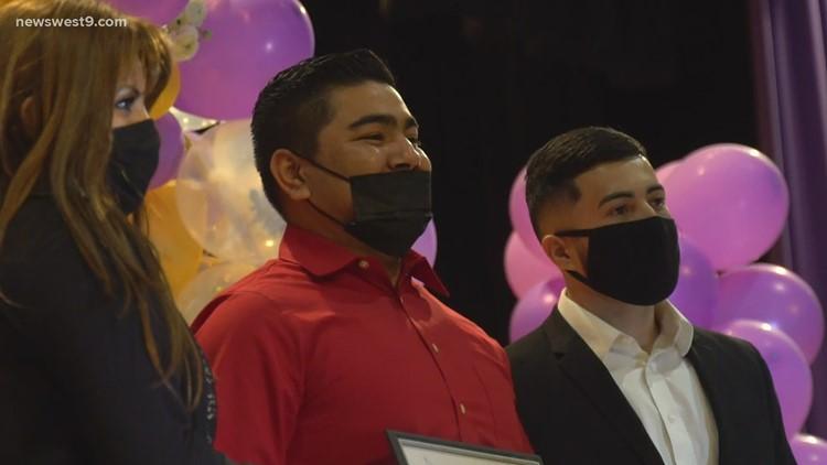 Former Pecos High School basketball star awards first annual scholarship