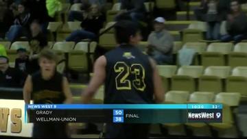 02/18: Boy's Basketball - GRADY VS. WELLMAN