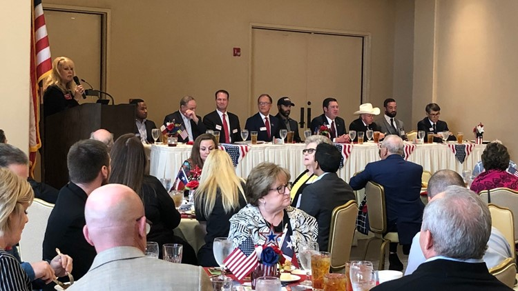 Ector County Republican Women Club hosts nine Congressional District 11 candidates