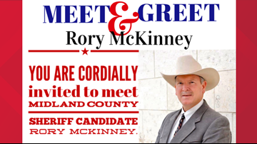 Sheriff candidate Rory McKinney holds meet & greet