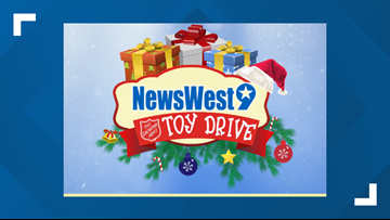 Locations for the 2019 Salvation Army Toy Drive