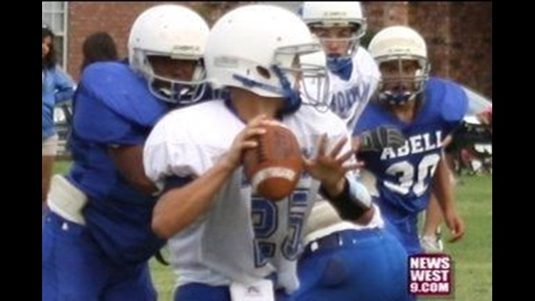 Teen Quarterback Gets Noticed by the Big Guys