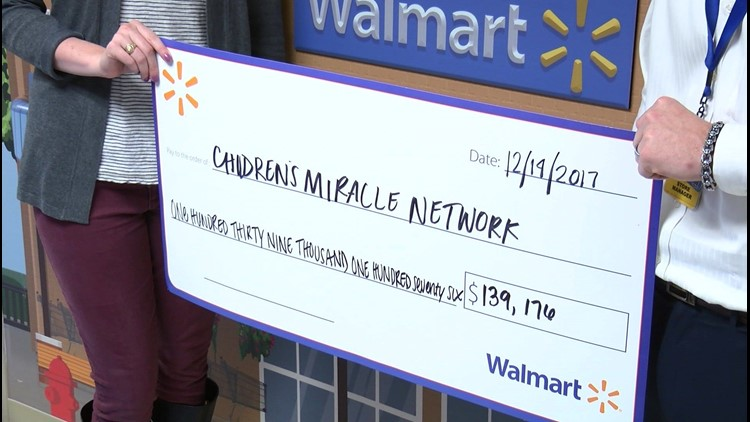 Walmart and Sam's Club team up with the Children's Miracle Network