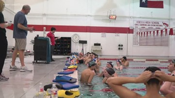 High school pool renovations lead to surprising friendships