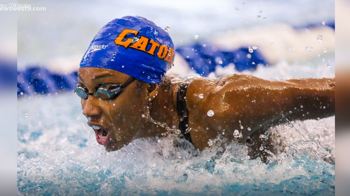 Midland native Natalie Hinds, Team USA Women's 4x100m freestyle relay team qualify for Olympic finals