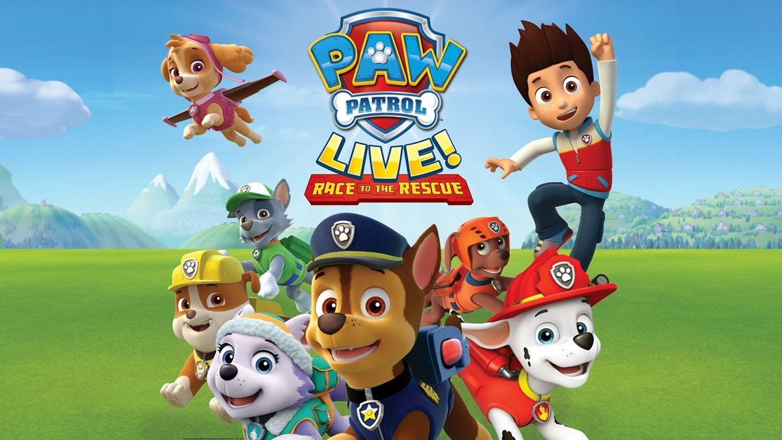 PAW PATROL LIVE! TICKET GIVEAWAY 2020 OFFICIAL RULES