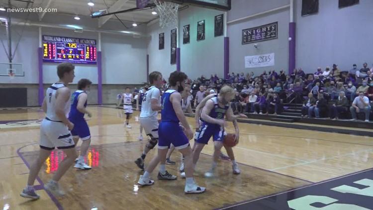 Midland Classical Boys Basketball vs Lakehill