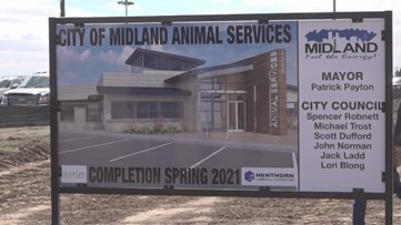 New Midland animal shelter set to more than double size of current shelter