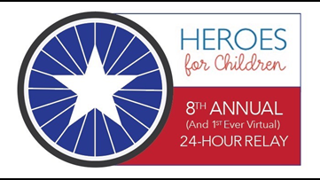 Heroes for Children holds Virtual Relay
