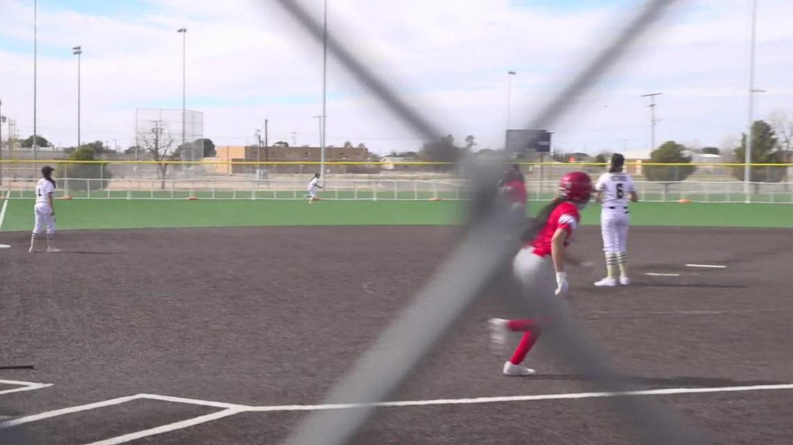 Odessa High softball vs Lubbock High