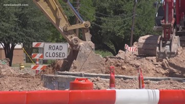 Update on Midkiff and Golf Course Road construction