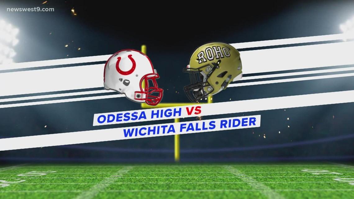 Week 4   Odessa High vs. Rider