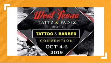 Over 100 artists gather for West Texas Tattoo, Barber Convention