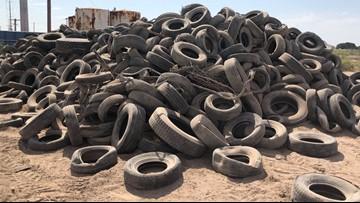 Tires, tires everywhere...