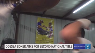 Odessa boxer aims for second National Title
