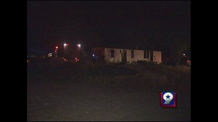Fire Sparks Up Inside Odessa Mobile Home