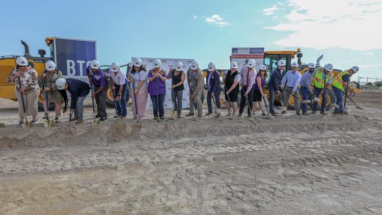 Pecos Barstow Toyah ISD breaks ground on new facility