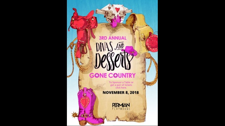 Permian Playhouse to host Divas & Desserts Gone Country event