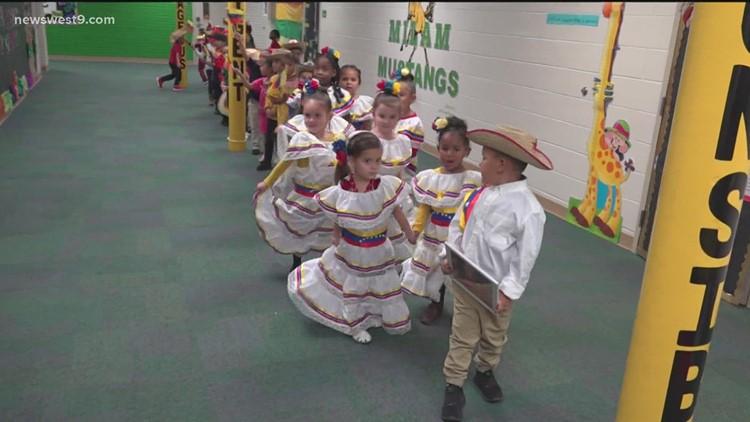 Milam Elementary students celebrate Hispanic Heritage Month