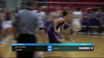 02/19: Boy's Basketball - BALLINGER VS ALPINE