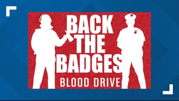Back the Badges Blood Drive set to kick off