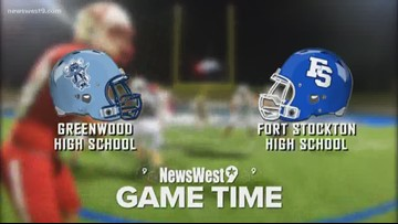 Week 9- Greenwood vs. Fort Stockton