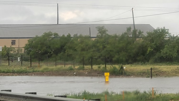 Some Midland construction projects delayed due to rain