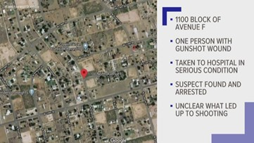 Suspect arrested after shooting in Ector County