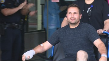Odessa PD officer released from Medical Center Hospital