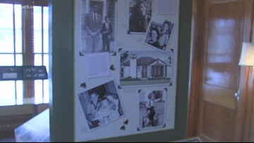 George Bush Childhood Home Opens a new exhibit