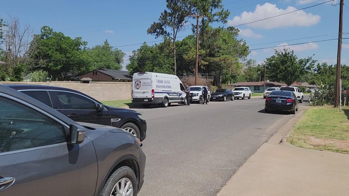 Crime scene on Louisiana