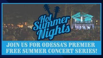 Hot Summer Nights concert series returns to Odessa