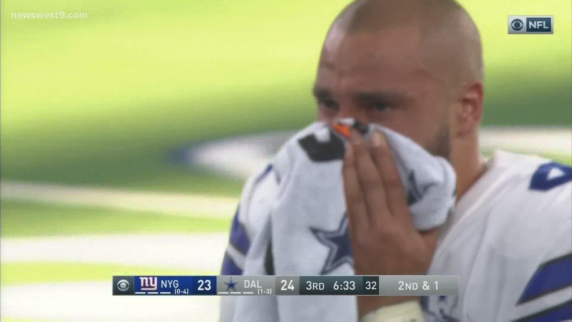 Dallas Cowboys Qb Dak Prescott Fractures Right Ankle Team Says Newswest9 Com