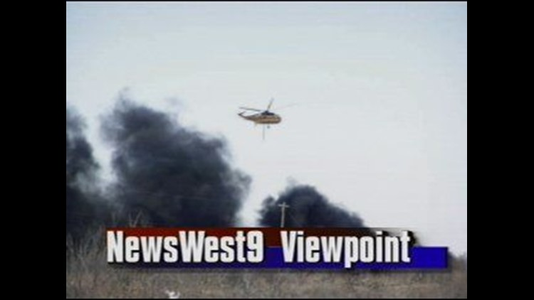 Firefighters Gain the Upper Hand After a Massive Grassfire