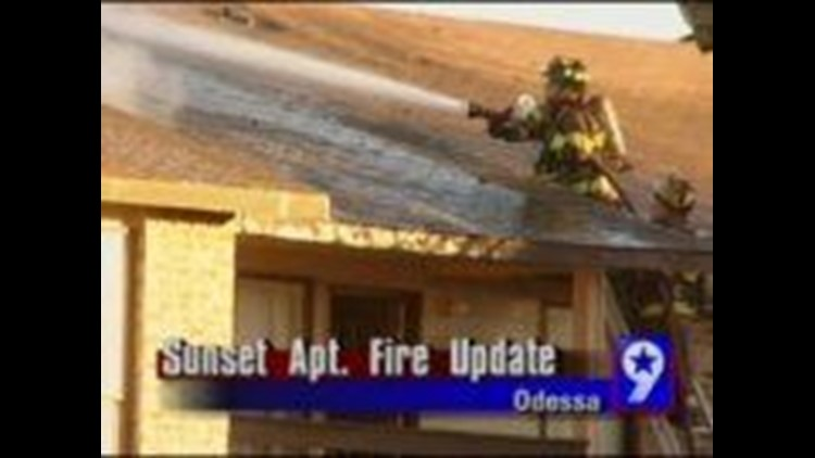 Update on the Sunset Apartment Fire in Odessa